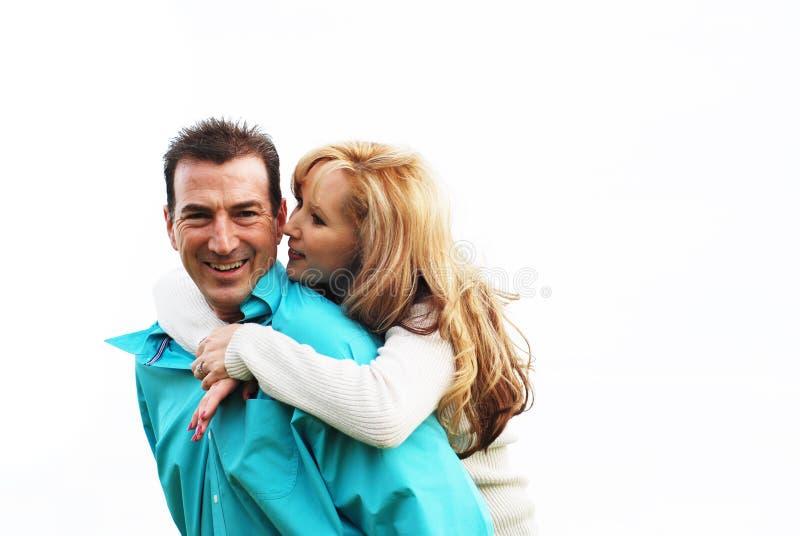 lyckliga par fotografering för bildbyråer