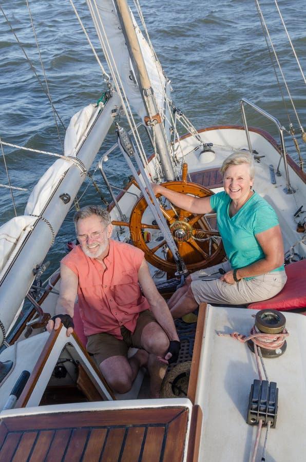 Lyckliga sjömän arkivbilder