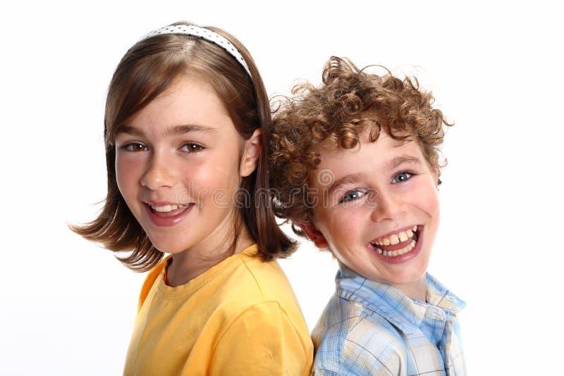 lyckliga ungar fotografering för bildbyråer