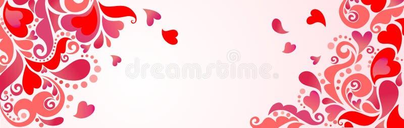 Lyckliga valentin dag! royaltyfri illustrationer