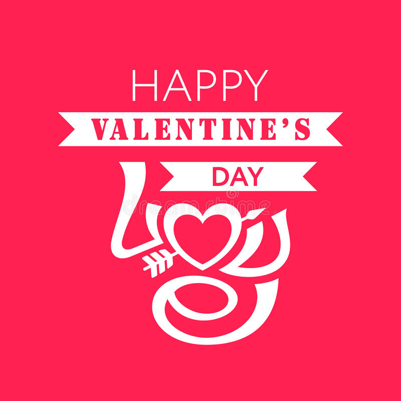 Download Lyckliga valentindagkort vektor illustrationer. Illustration av roman - 37347854