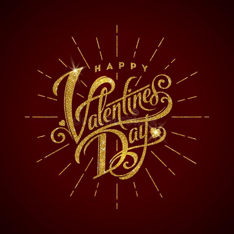 lyckliga valentiner för dag vektor illustrationer
