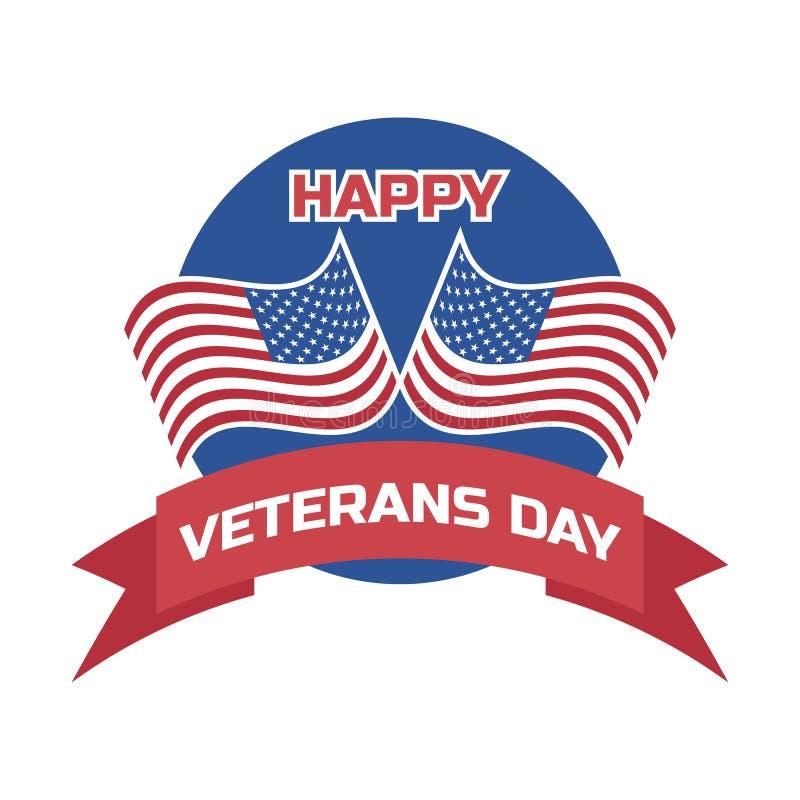 Lyckliga veteran dag för amerikansk veteran vektor vektor illustrationer