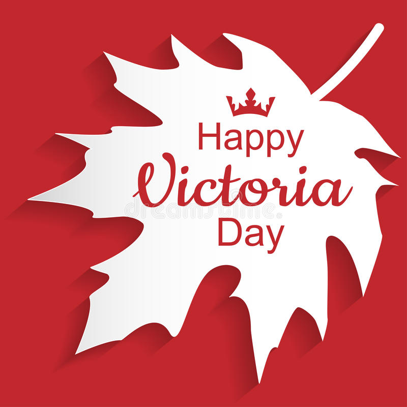 Lyckliga Victoria Day royaltyfri foto