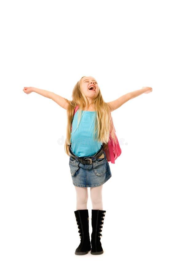 lyckligt barn för flicka royaltyfri foto