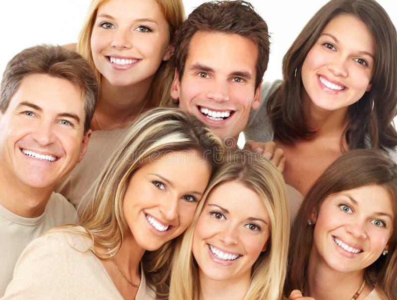 lyckligt folk royaltyfri foto