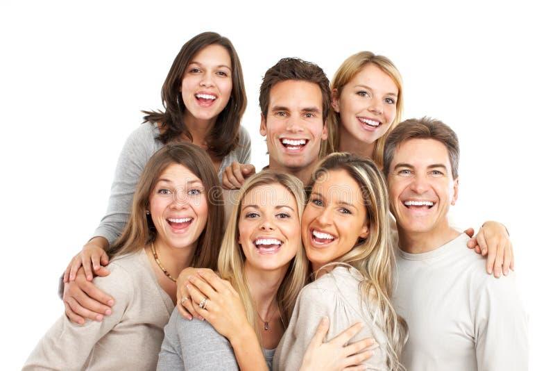 lyckligt folk fotografering för bildbyråer