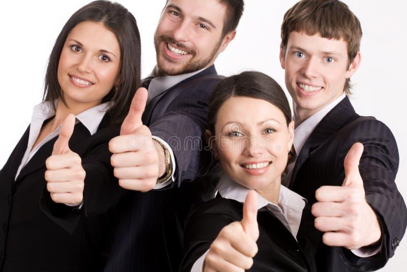 lyckligt folk för affär arkivbilder