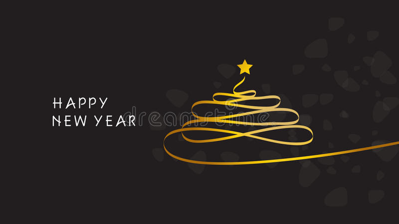 lyckligt glatt nytt år för bakgrundsjul stock illustrationer
