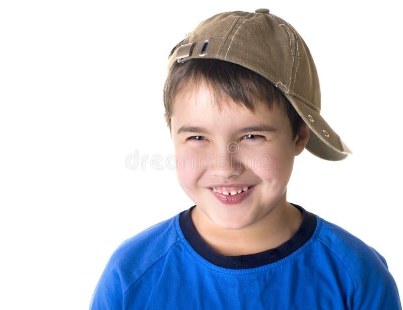 lyckligt joyful för härlig pojke little royaltyfri foto