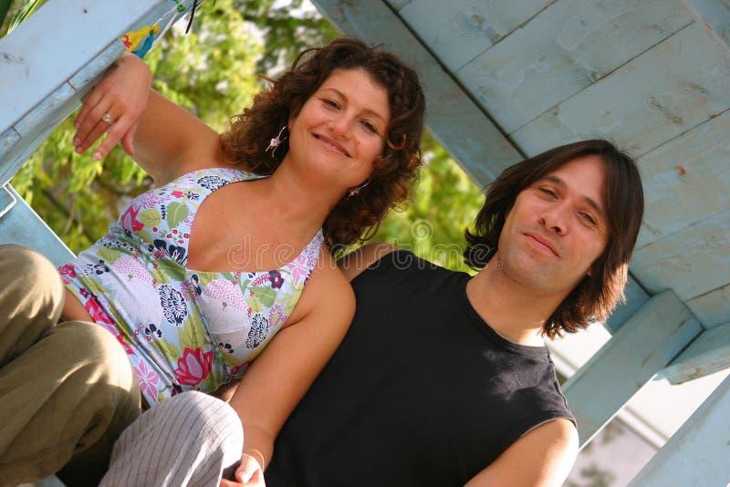 Download Lyckligt le för par arkivfoto. Bild av män, manligt, close - 228092