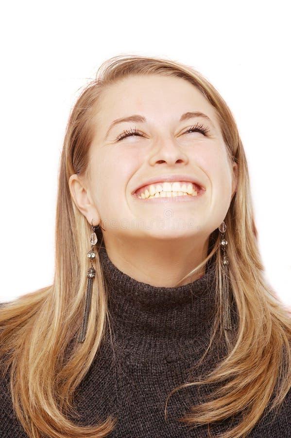 lyckligt leende royaltyfria foton