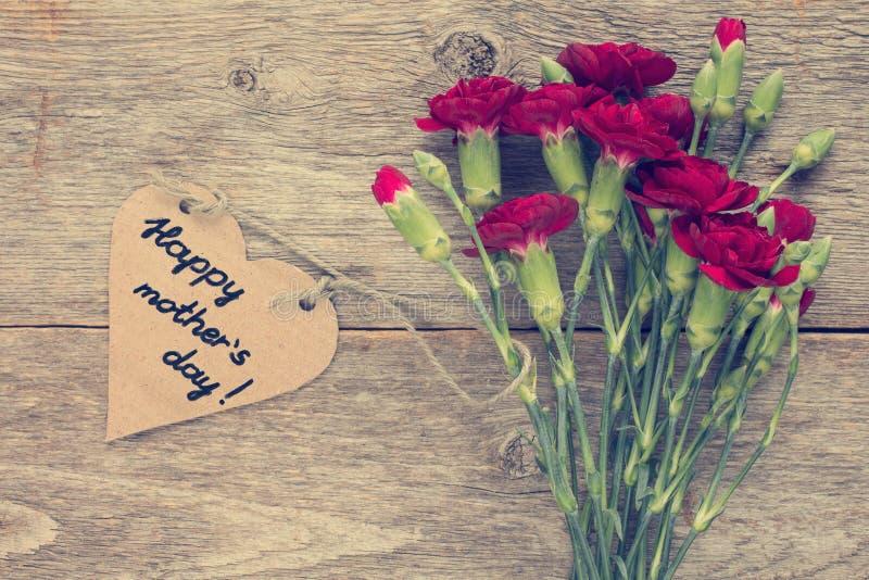 Lyckligt meddelande för moderdag fotografering för bildbyråer