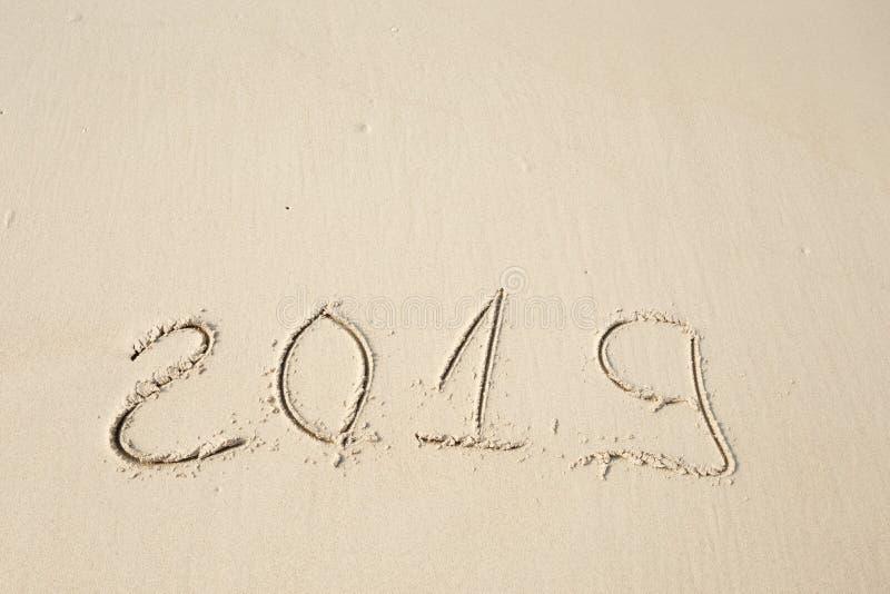 Lyckligt nytt år 2019 fotografering för bildbyråer
