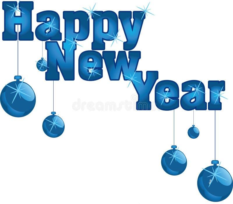 Lyckligt nytt år royaltyfri illustrationer