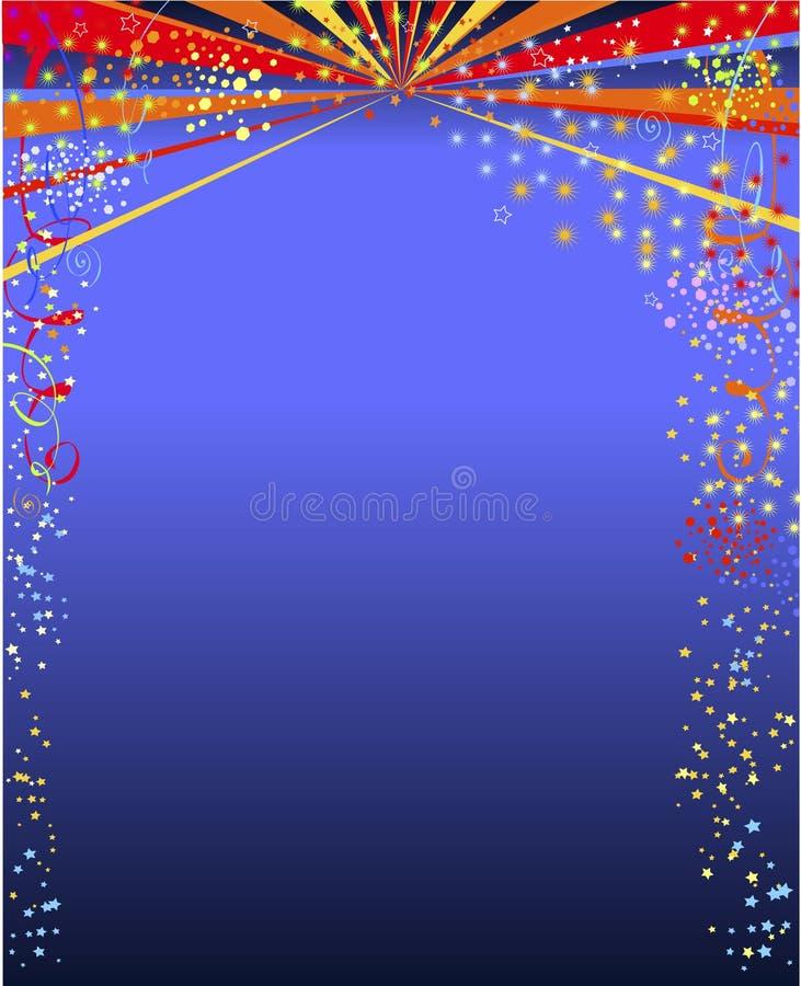 Download Lyckligt nytt år stock illustrationer. Illustration av stjärnor - 3545806