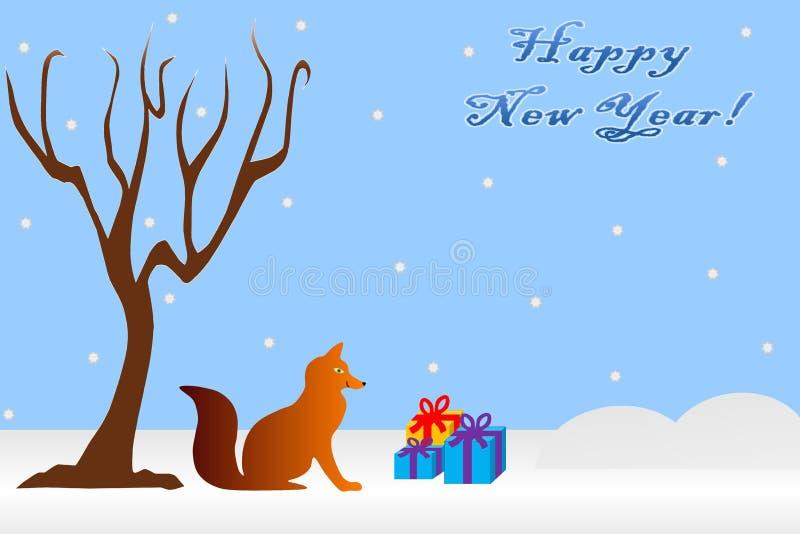 Download Lyckligt nytt år stock illustrationer. Illustration av angus - 78728058