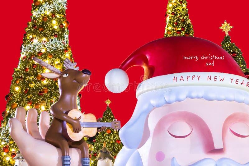 lyckligt nytt år för jul arkivbild