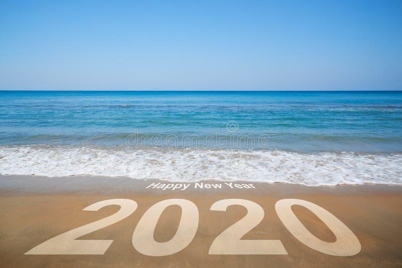 Lyckligt nytt ?r 2020 royaltyfria bilder
