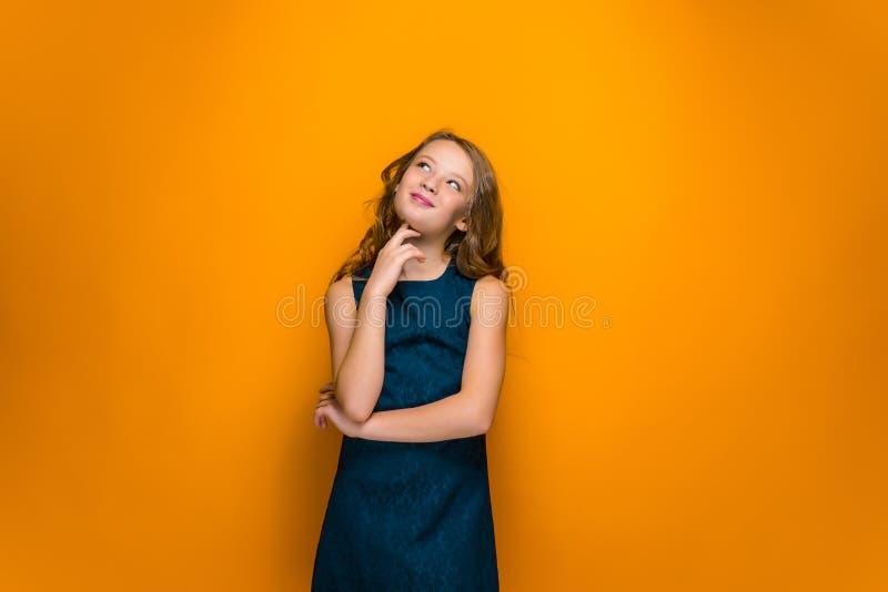lyckligt teen för flicka royaltyfri foto