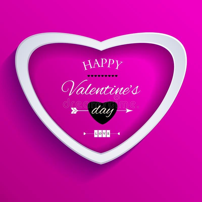 Download Lyckligt valentindagkort. vektor illustrationer. Illustration av dekor - 37345469