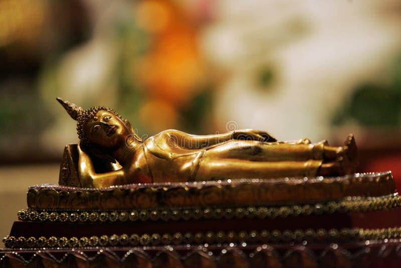 Lying Buddha Stock Images