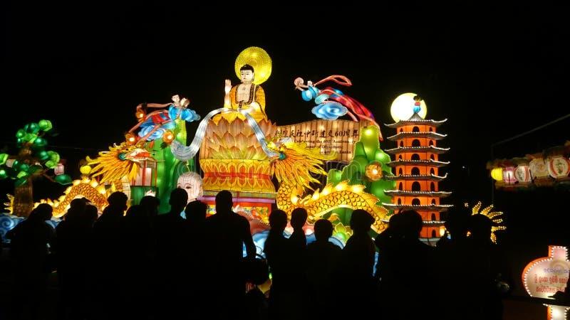 Lyktautställningpolonnaruwa royaltyfria bilder