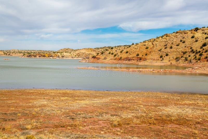 Lyman湖亚利桑那 库存照片