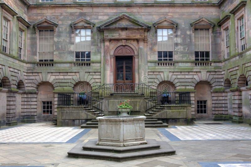 Lyme Hall в Cheshire, Англии. стоковое фото