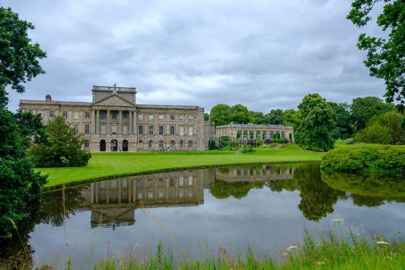 Lyme Hall, historisches Englisch State Home and park in Cheshire, Vereinigtes Königreich lizenzfreies stockfoto