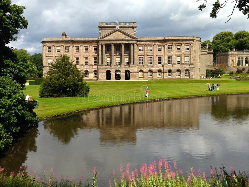 Lyme Hall. At Lyme Park, National Trust stock image