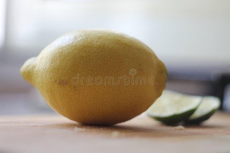 Lyme och citron royaltyfri foto
