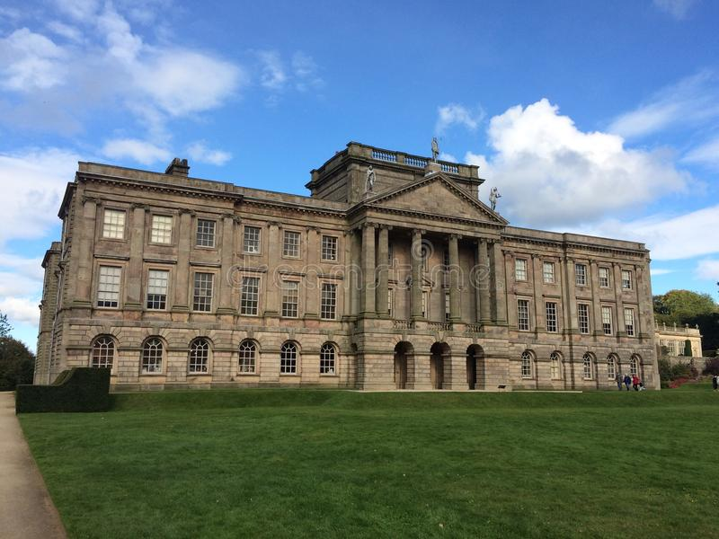 Lyme Park country house royalty free stock photos
