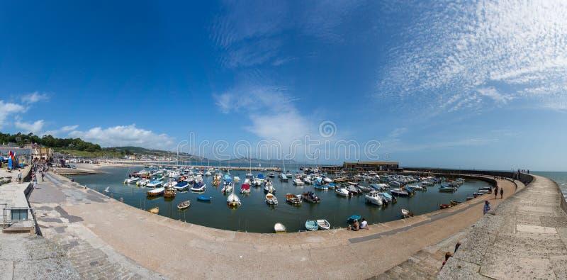 Lyme Regis arkivfoto