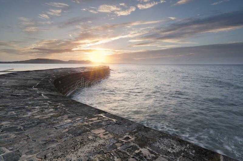 Lyme Regis stockfoto