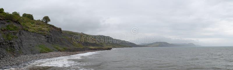 Lyme Regis Beach stockbild