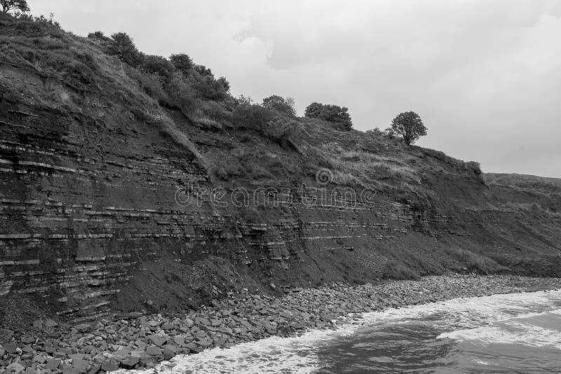 Lyme Regis Beach royalty-vrije stock afbeelding
