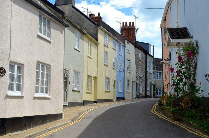 Lyme Regis in Dorset stockfotos