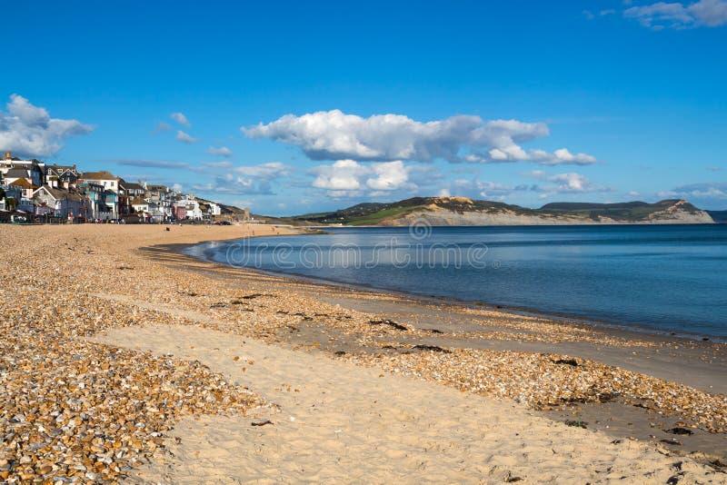 Lyme regis Dorset lizenzfreie stockfotografie