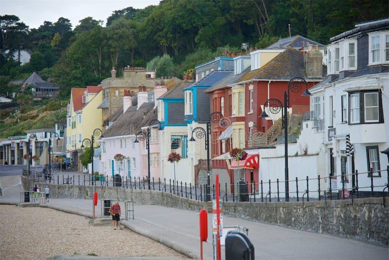 Lyme REGIS, Dorset, het UK royalty-vrije stock afbeelding