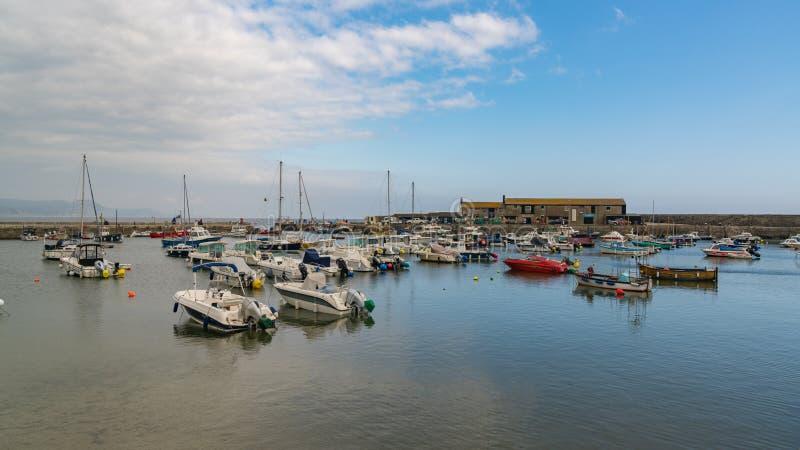 Lyme Regis, Dorset, Regno Unito immagine stock libera da diritti