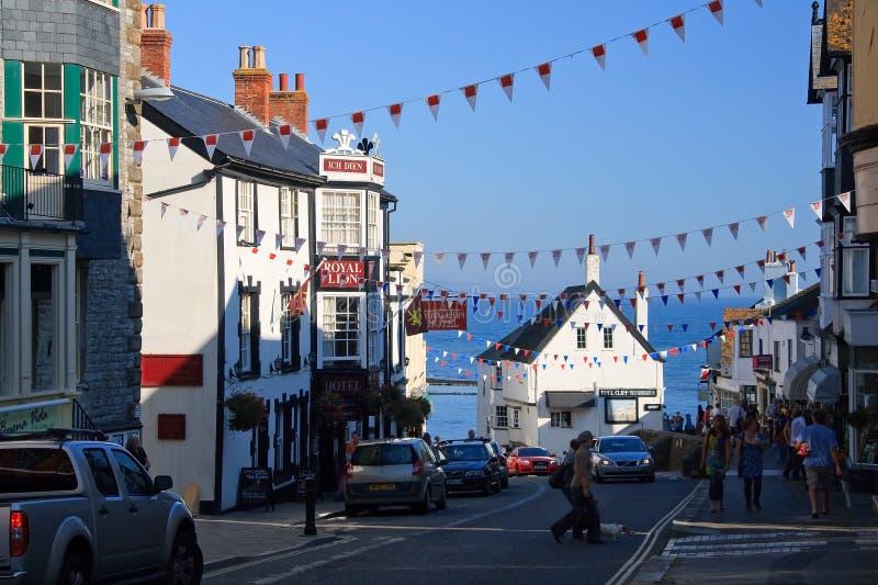 Lyme Regis, Dorset, UK royaltyfri fotografi