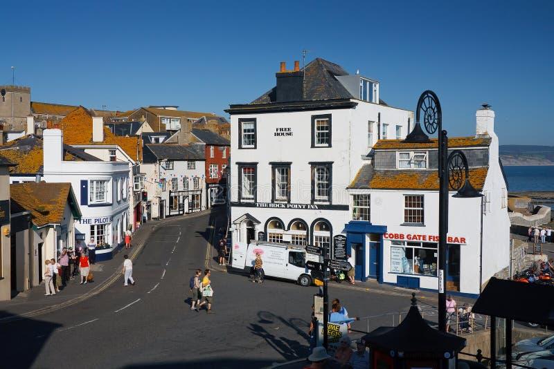 Lyme REGIS, Dorset, UK στοκ εικόνες με δικαίωμα ελεύθερης χρήσης