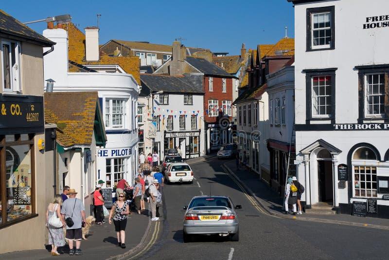 Lyme Regis, Dorset, UK fotografering för bildbyråer