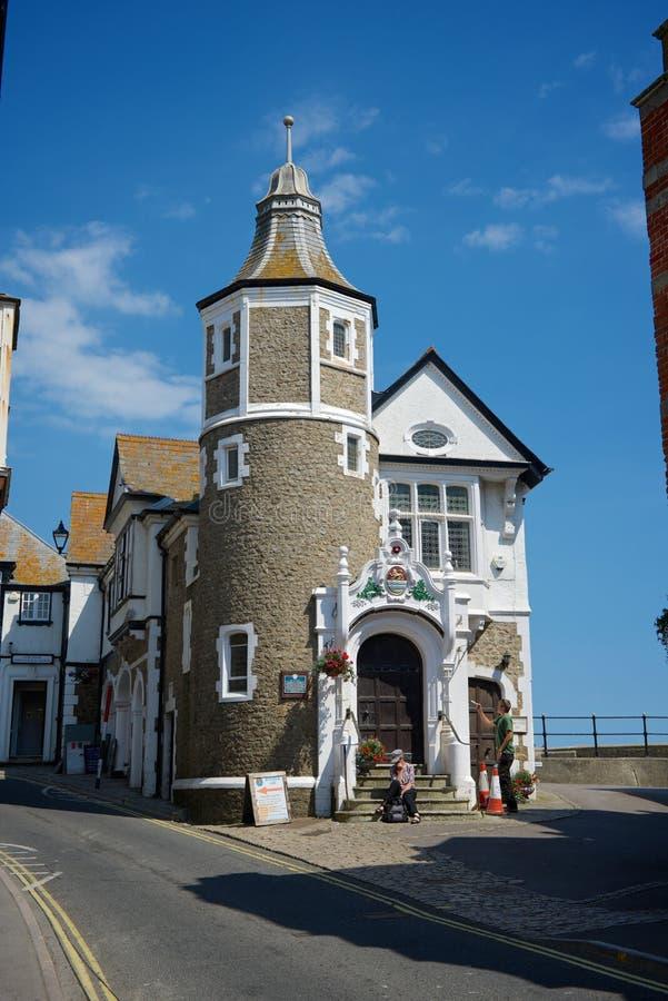 Lyme Regis Dorset UK royaltyfri fotografi