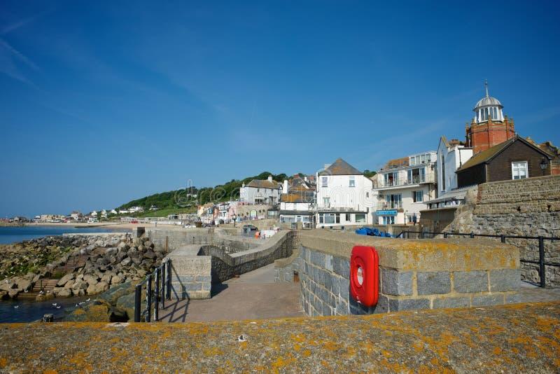 Lyme Regis Dorset UK arkivbilder