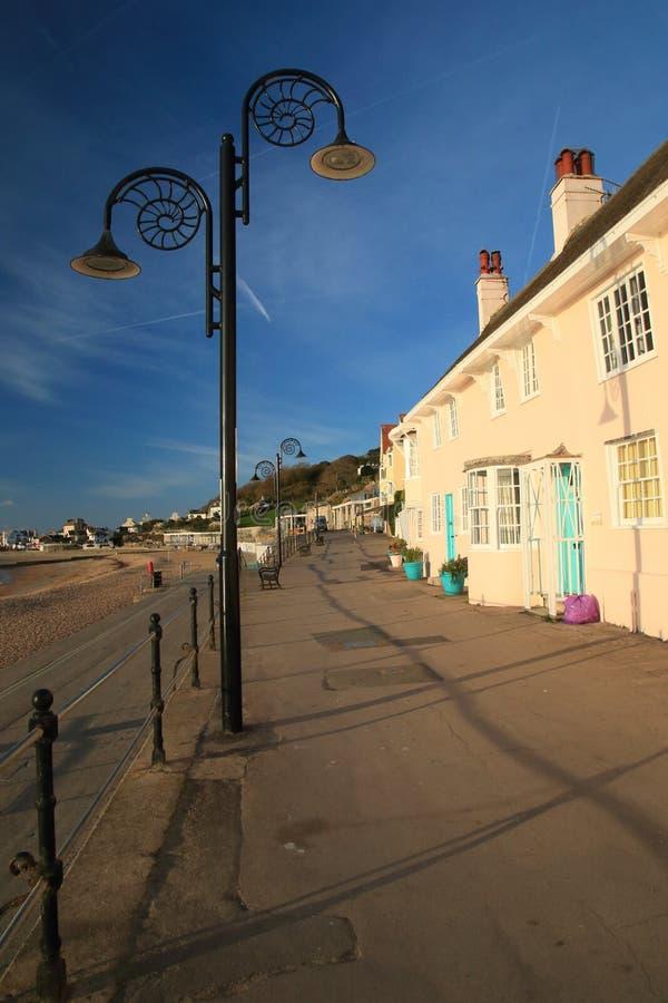 Lyme Regis i Dorset fotografering för bildbyråer