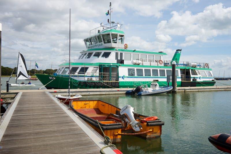 Lymington Marina Hampshire R-U photos stock