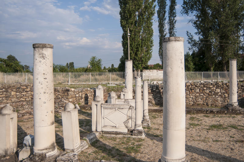 Lyncestis el República de Macedonia Europa de Heraclea fotos de archivo libres de regalías