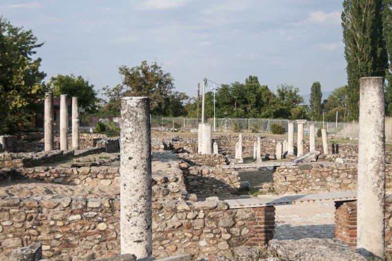 Lyncestis république de Macédoine l'Europe de Heraclea photo libre de droits